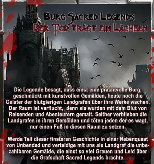 sacred legends - eine schaurig schöne gruselei | sacred legends